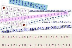 Alphabetical Indexes