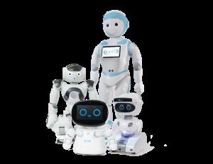 MOVIA's 4 robots